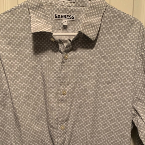 Express Other - Express Extra Slim Long Sleeve Dress Shirt